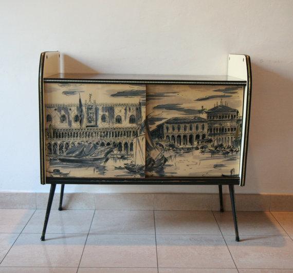 Summer 14: Retro landscape cabinet il_570xN.555195537_c7sw