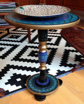 Summer 14: Moorish round side table il_570xN.575932512_4azn