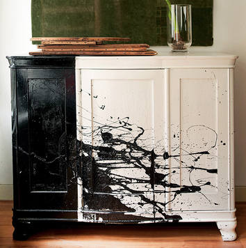 Autum 14: Upcycles Side Board Pollock-style-furniture