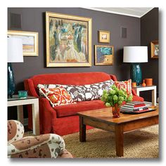 Autum 14 Deco: Blk/red sitting area 117700249d18be25a002342f33edfb73