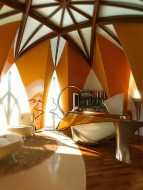 Autum 14 Deco: Starshaped ceiling Amazing-Workspace-Decorating-Ideas-Image-