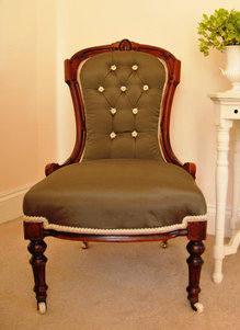 Autum 14 2: Brown side chair il_570xN.345650923