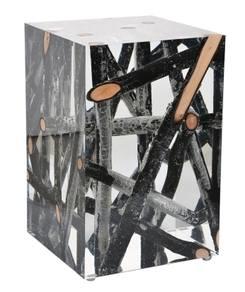 X-Mas 14: Black Wood Cube 1b4c4986-c198-47e0-afaa-18edc3c1881c