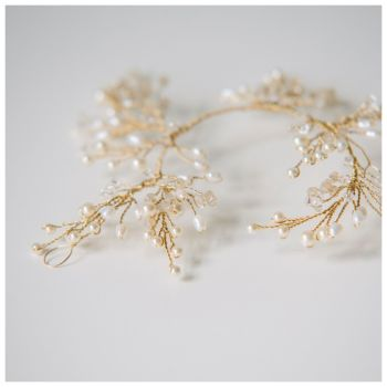 IVY | Delicate Bridal Hair Vine Headpiece