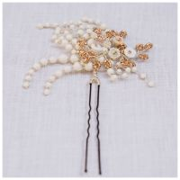 WINTER ROSE | Jewelled Floral Wedding Hair Pin