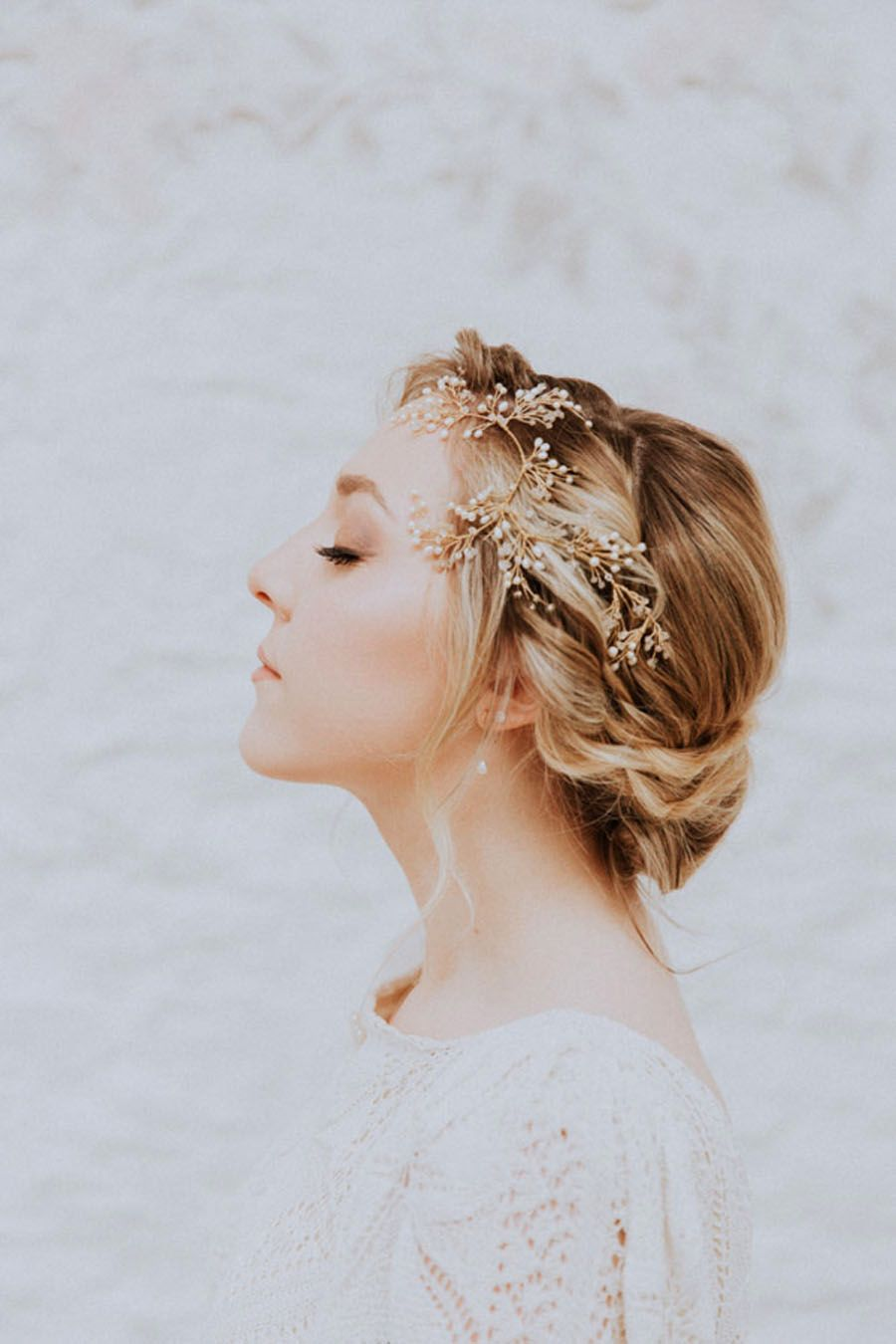 Oxi Photography Ivy Headpiece by Clare Lloyd