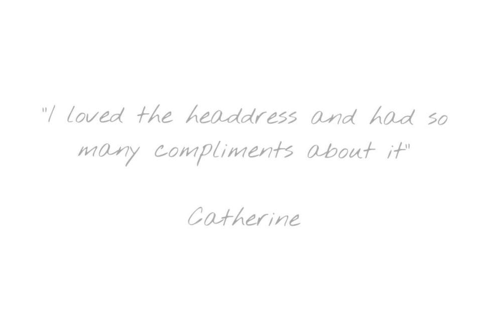 Testimonial - Catherine