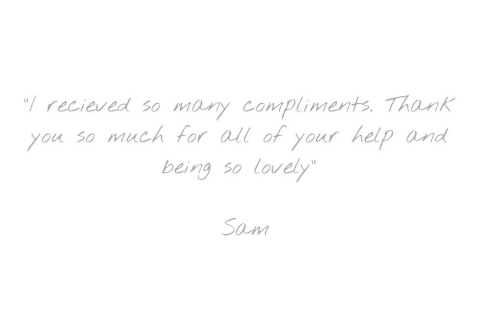 Testimonial - Sam