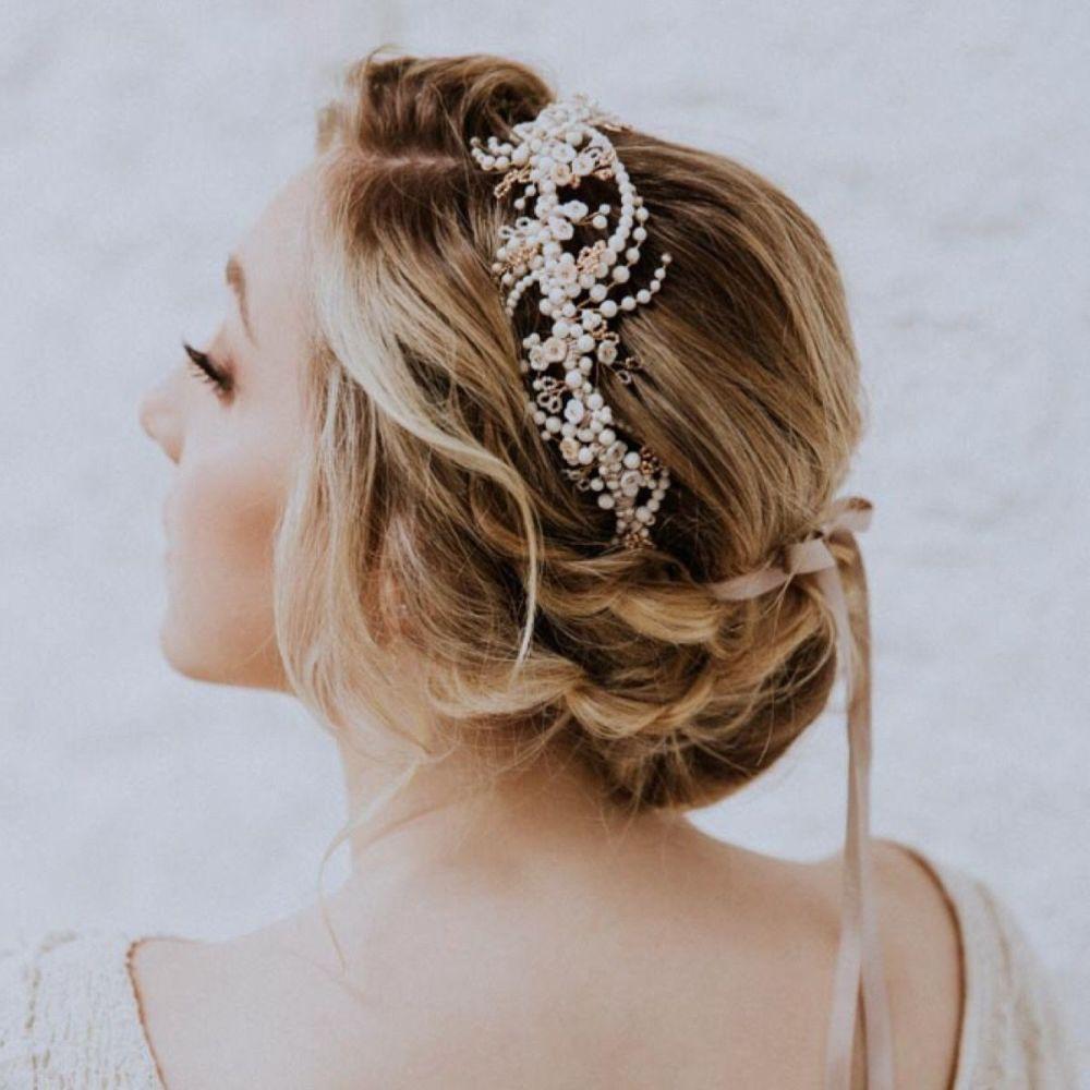 Winter Rose Headdress