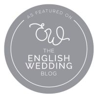 English Wedding Blog Grey Logo