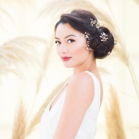 LUMI | Diamante and Crystal Wedding Hair Pins