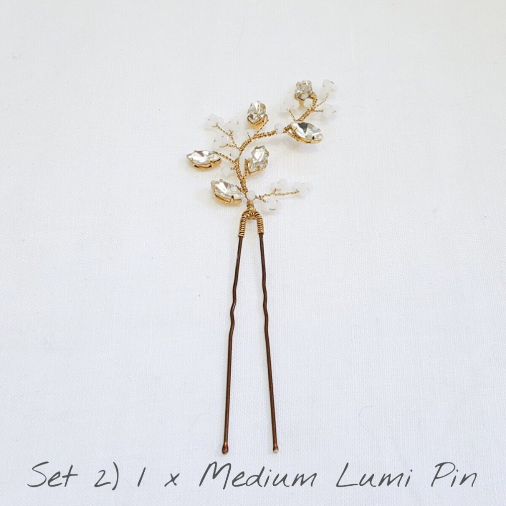 LUMI Hair Pins Set 2