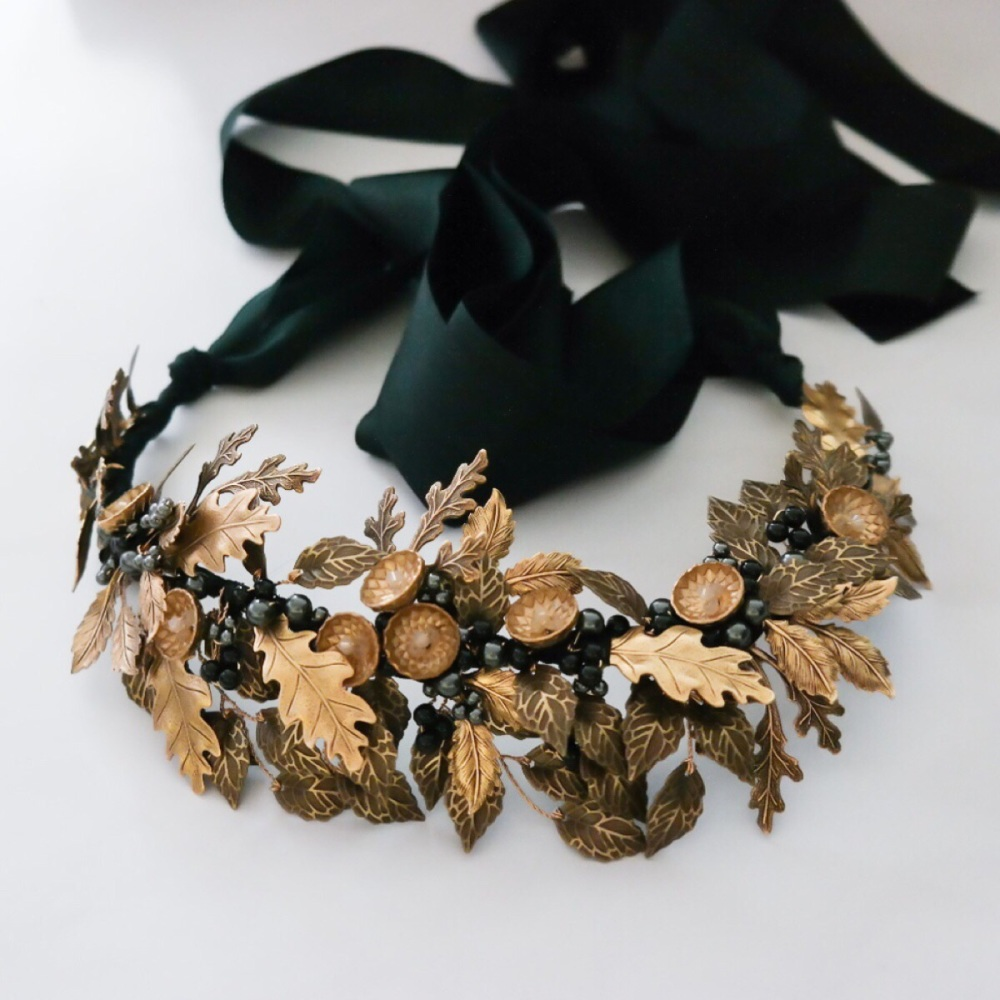 Autumn Antique Gold Crown
