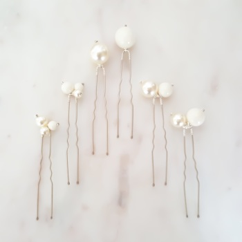 EIRA | Pearl Bridal Hair Pins