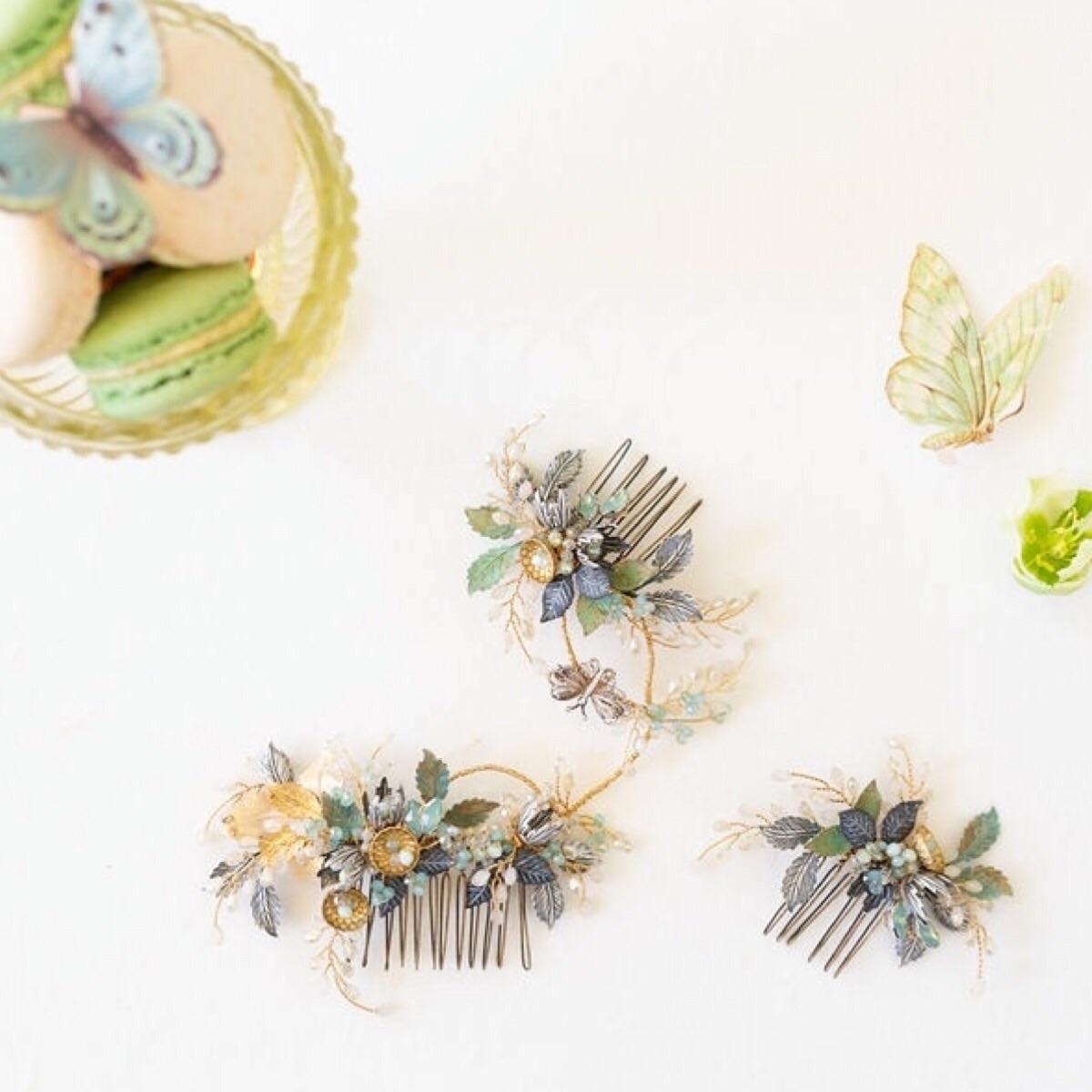 Buy handmade bridal hair accessories by British Bridal Designer Clare Lloyd