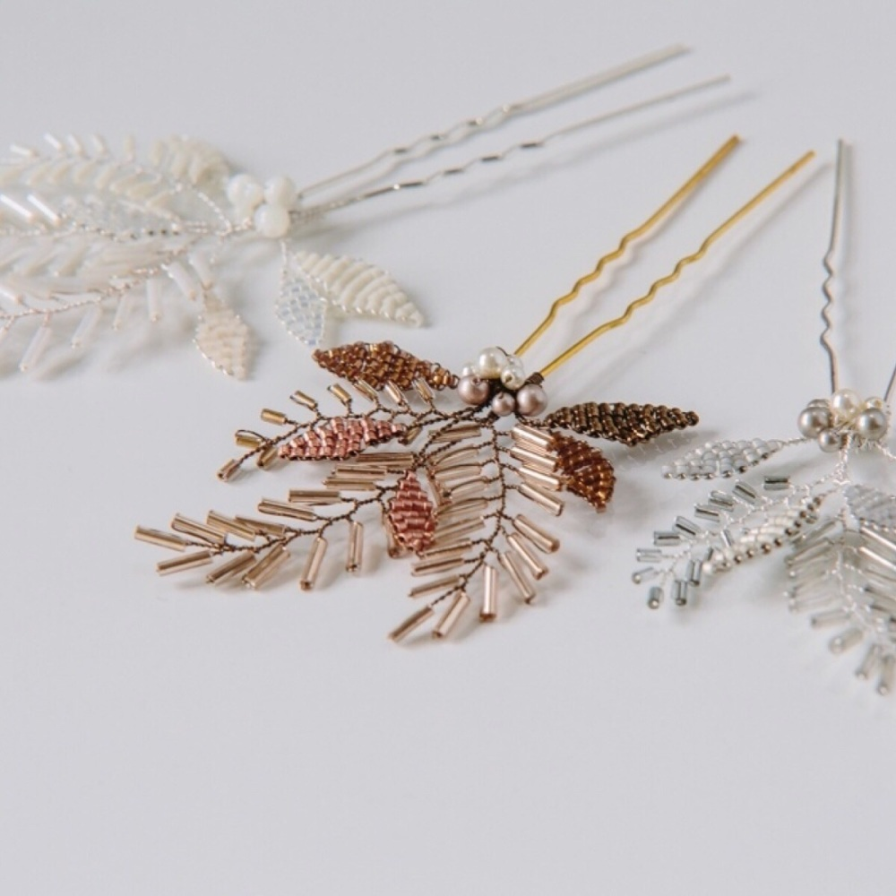 Fern Leaves Hair Pin