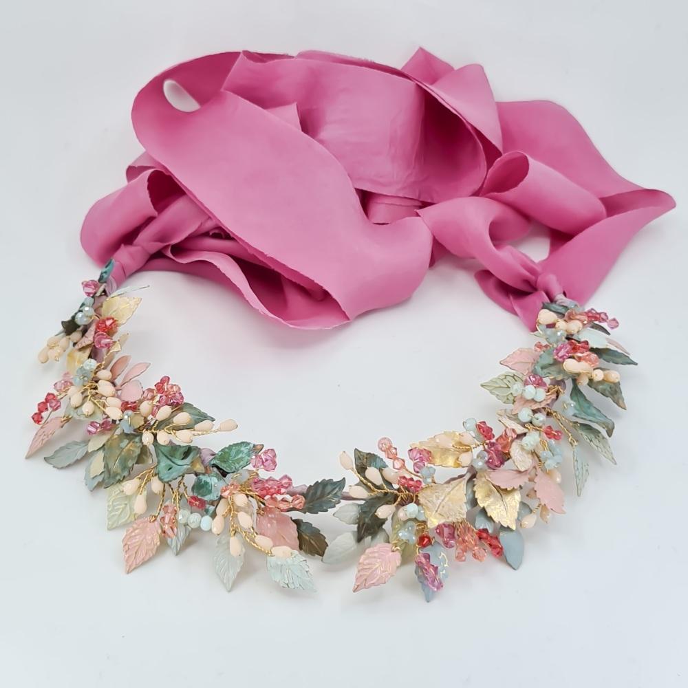 Summer Floral Multi Colour Crown
