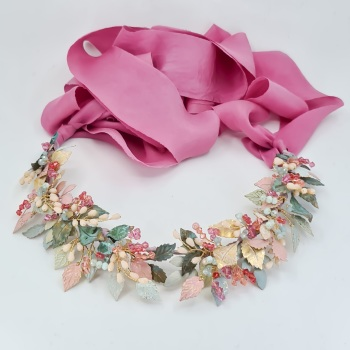 SUMMER | Floral Multi Colour Bridal Crown