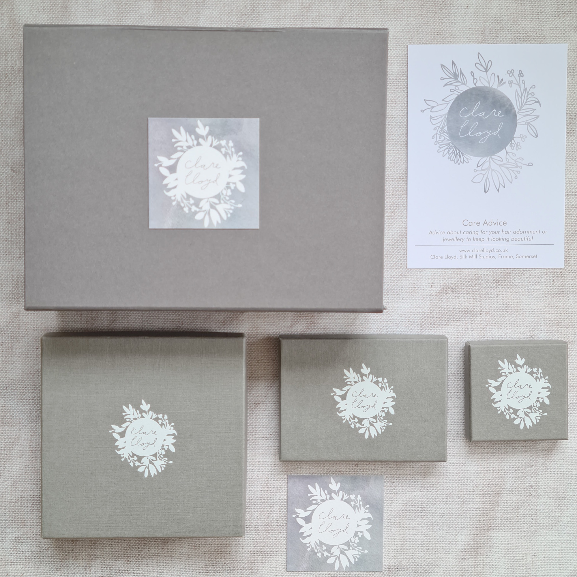 Sustainable packaging for wedding hair accessories