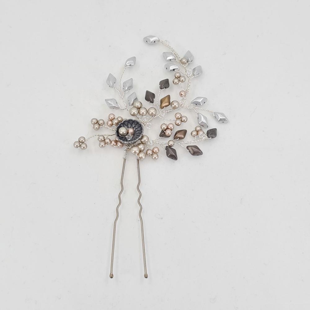 Antique Silver Hair Pin