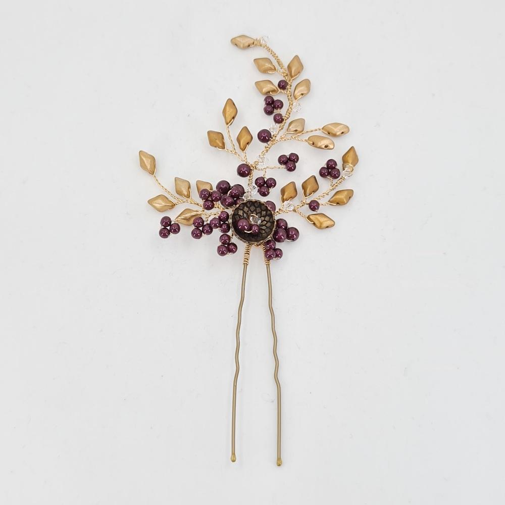 Autumn Gold  Hair Pin