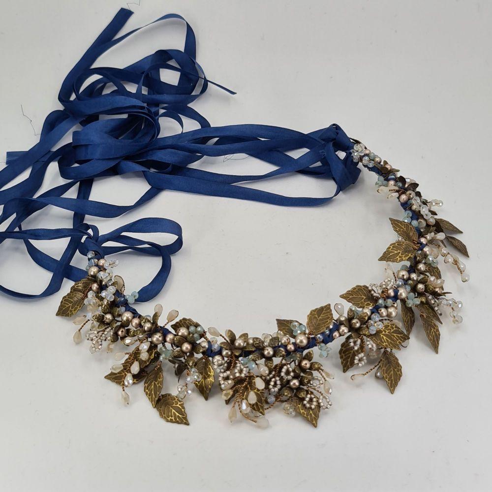 Autumn Blue Crown