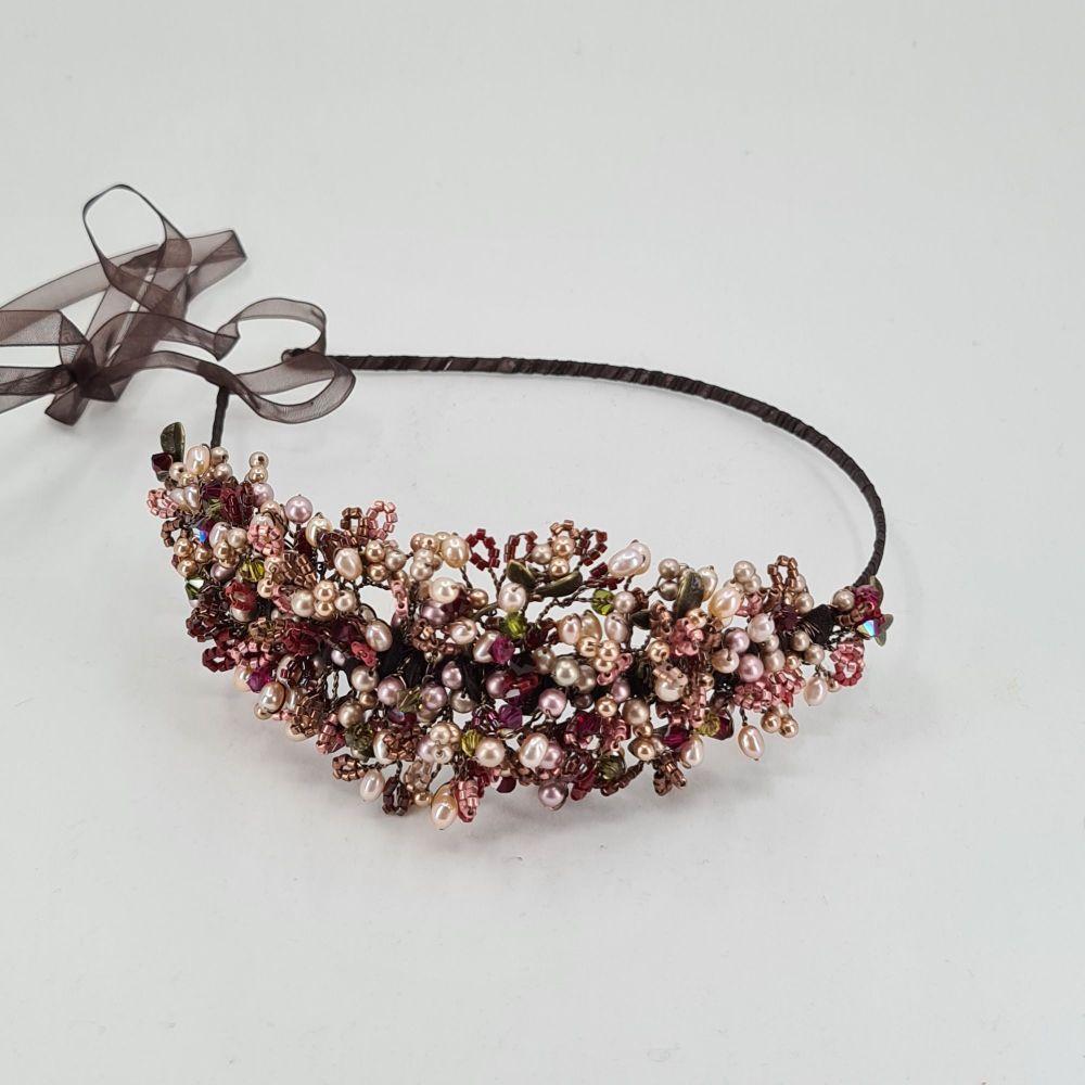 Autumn Berry Res and Garnet Headdress