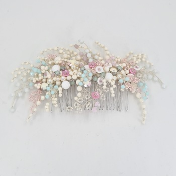 SUMMER FLOWERS | Statement Floral Wedding Hair Comb