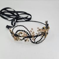 GATSBY | Art  Deco Black and Gold Headdress