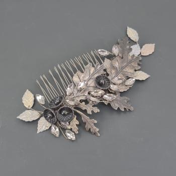 OAK | Acorn and Oak Leaves Bridal Hair Comb