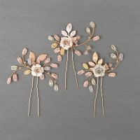 WILD EVE | Rose Wedding Hair Pins