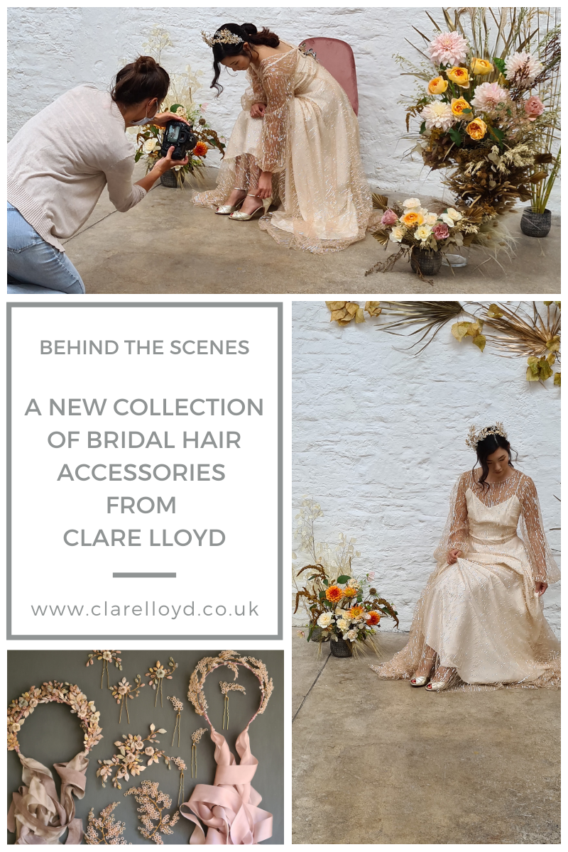 A new Collection of Bridal Accessories Blog Post by Clare Lloyd