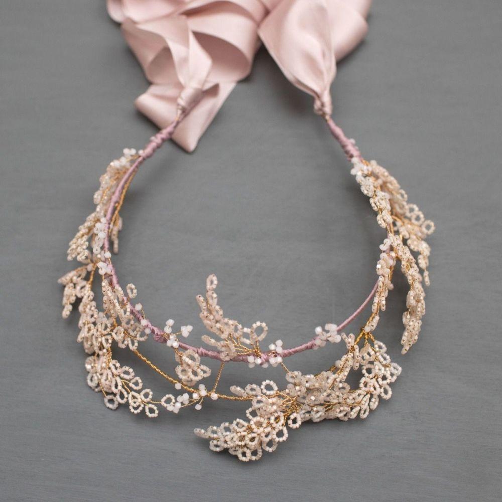 WILLOW | Delicate Blossom Flower Bridal Headdress