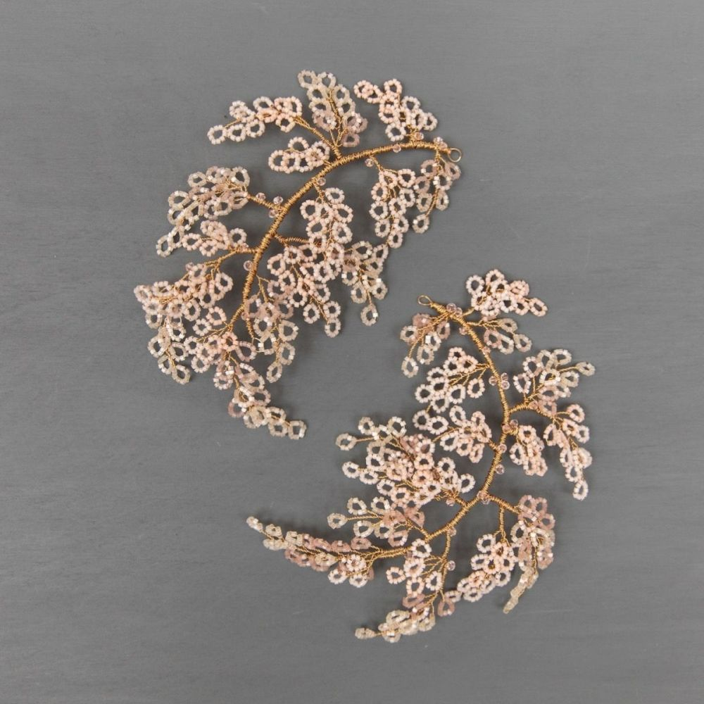 WILLOW   Delicate Blossom Flower Bridal Headpiece