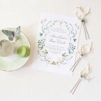 IO | Floral Bridal Hair Pins