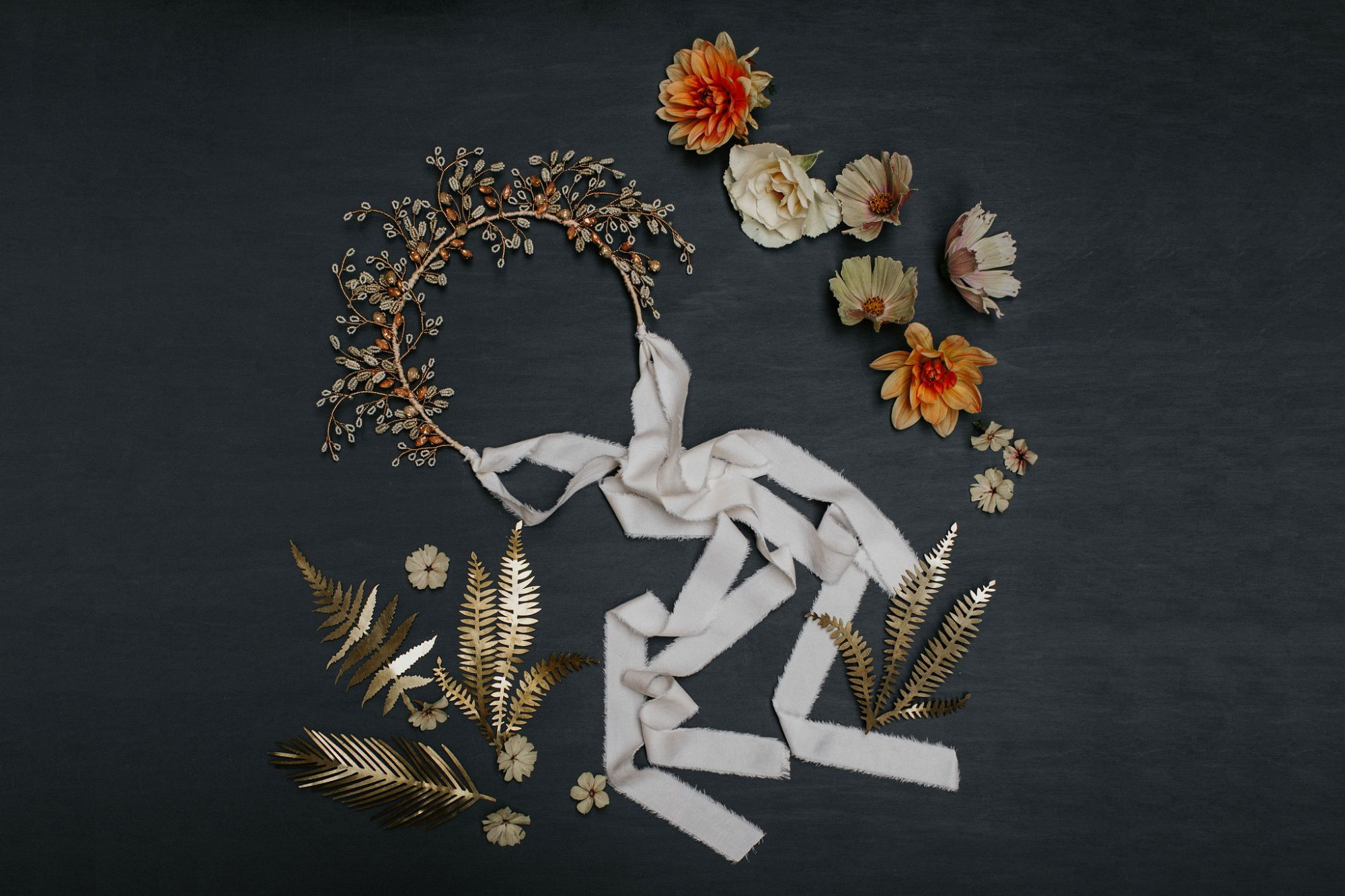 Buy handcrafted wedding headpieces and bridal hair accessories by Clare Lloyd