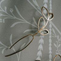 SYLVESTRIS | Delicate Outline Leaf Hair Pins