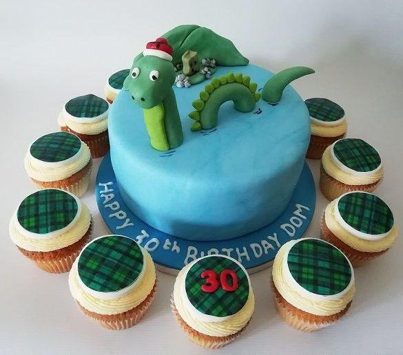 Nessie cake
