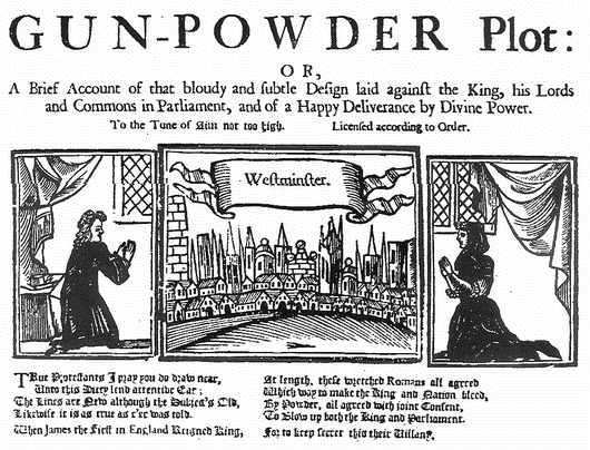 1605 Gunpowder Plot