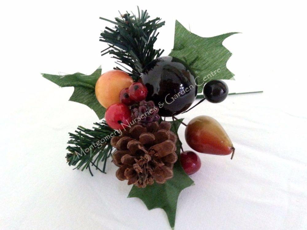 Artificial Christmas Picks & Holly