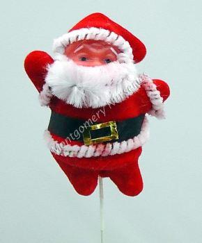 """3"""" Santa Pick On 9"""" Stem x 1 #386048"""