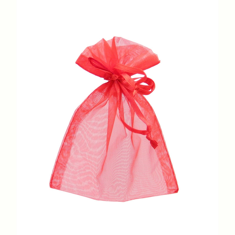 Red Organza Favour Bags Size: 9x12cm 10 bags #bg2036