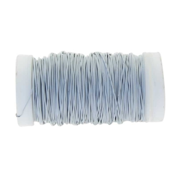 White Metallic Reel Wire 100G #wr4748