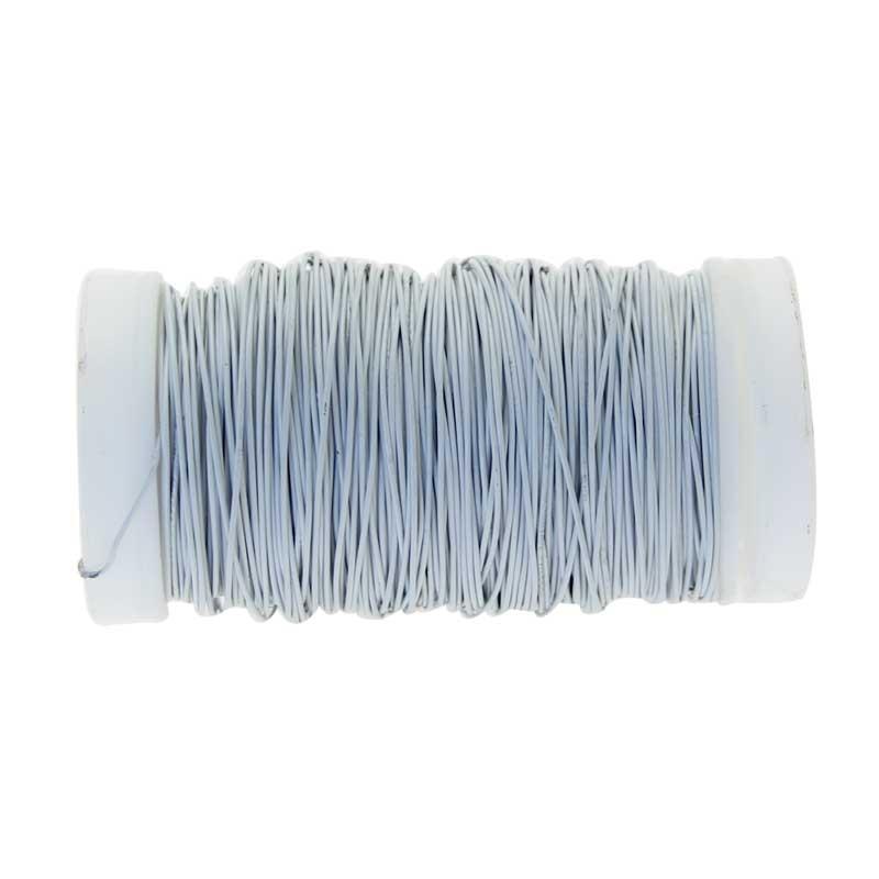 White Metallic Reel Wire 100G #wr4748