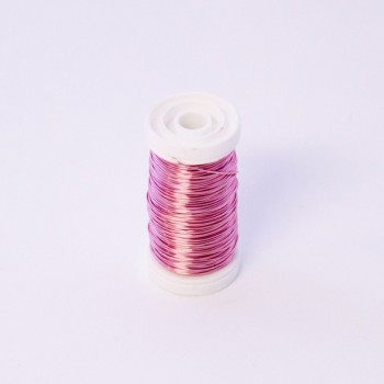 Rose Metallic Reel Wire 100G #77787