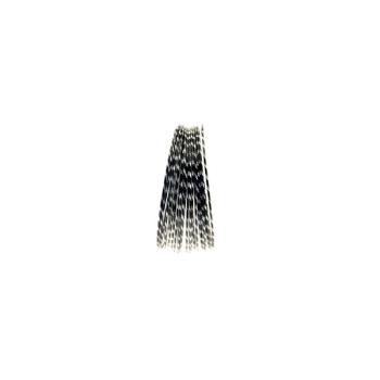 Black Diamond Cut Aluminium Wire Diameter: 2mm  Length : 10 metres