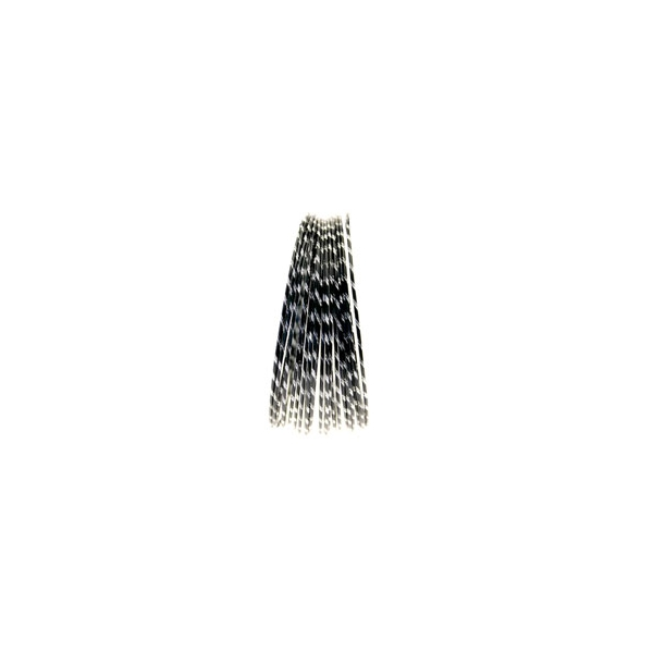 Black Diamond Cut Aluminium Wire Diameter: 2mm  Length : 10 metres