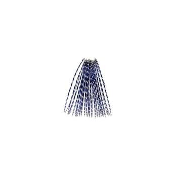 Dark Royal Blue Diamond Cut Aluminium Wire Diameter: 2mm  Length : 10 metres