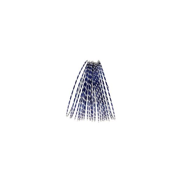 Dark Royal Blue Diamond Cut Aluminium Wire Diameter: 2mm  Length : 10 metre