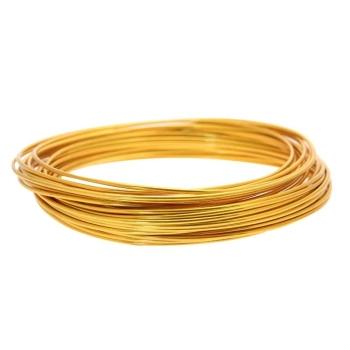 Aluminium Wire 2mm Gold